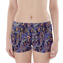 Pattern Color Design Texture Boyleg Bikini Wrap Bottoms by Simbadda