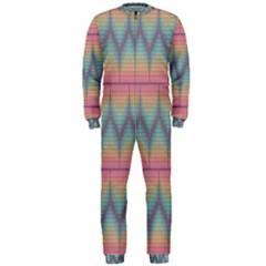 Pattern Background Texture Colorful Onepiece Jumpsuit (men)