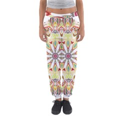 Intricate Flower Star Women s Jogger Sweatpants