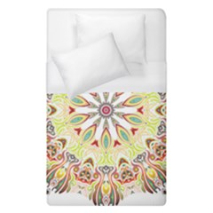 Intricate Flower Star Duvet Cover (single Size)