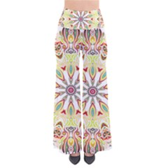 Intricate Flower Star Pants by Alisyart