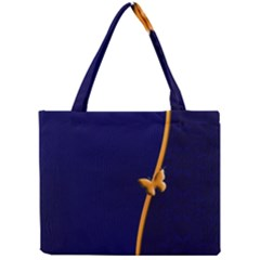 Greeting Card Invitation Blue Mini Tote Bag by Simbadda
