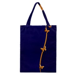 Greeting Card Invitation Blue Classic Tote Bag by Simbadda