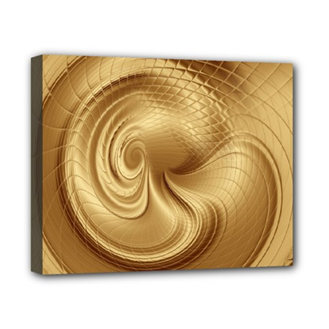Gold Background Texture Pattern Canvas 10  X 8  by Simbadda