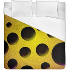 Background Design Random Balls Duvet Cover (king Size) by Simbadda