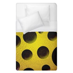 Background Design Random Balls Duvet Cover (single Size) by Simbadda