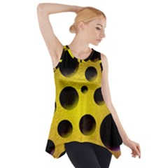 Background Design Random Balls Side Drop Tank Tunic by Simbadda
