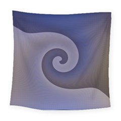 Logo Wave Design Abstract Square Tapestry (large) by Simbadda