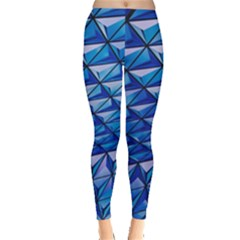 Lines Geometry Architecture Texture Leggings  by Simbadda