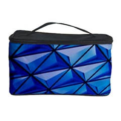 Lines Geometry Architecture Texture Cosmetic Storage Case by Simbadda
