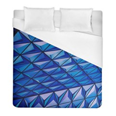 Lines Geometry Architecture Texture Duvet Cover (full/ Double Size) by Simbadda