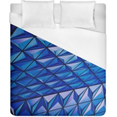 Lines Geometry Architecture Texture Duvet Cover (california King Size) by Simbadda