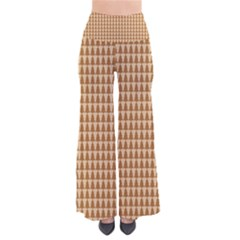 Pattern Gingerbread Brown Pants by Simbadda