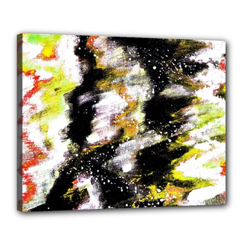 Canvas Acrylic Digital Design Canvas 20  X 16  by Simbadda