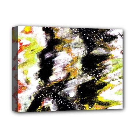 Canvas Acrylic Digital Design Deluxe Canvas 16  X 12   by Simbadda