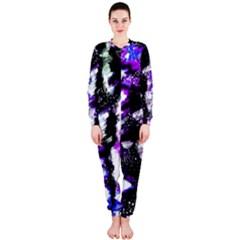 Canvas Acrylic Digital Design Onepiece Jumpsuit (ladies)