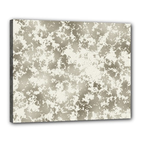 Wall Rock Pattern Structure Dirty Canvas 20  x 16  by Simbadda