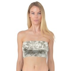 Wall Rock Pattern Structure Dirty Bandeau Top by Simbadda