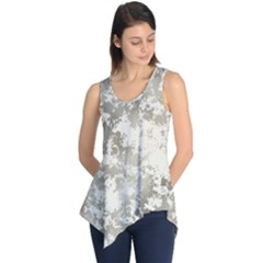 Wall Rock Pattern Structure Dirty Sleeveless Tunic by Simbadda