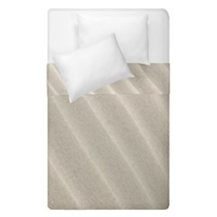 Sand Pattern Wave Texture Duvet Cover Double Side (single Size) by Simbadda