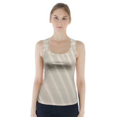 Sand Pattern Wave Texture Racer Back Sports Top by Simbadda