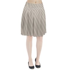 Sand Pattern Wave Texture Pleated Skirt