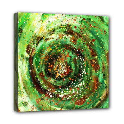 Canvas Acrylic Design Color Mini Canvas 8  X 8  by Simbadda