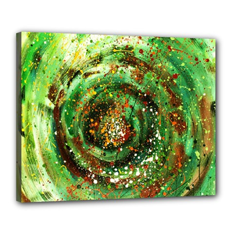 Canvas Acrylic Design Color Canvas 20  X 16  by Simbadda