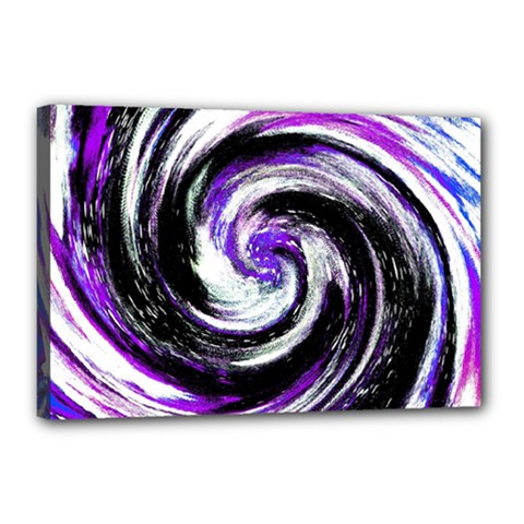 Canvas Acrylic Digital Design Canvas 18  X 12  by Simbadda