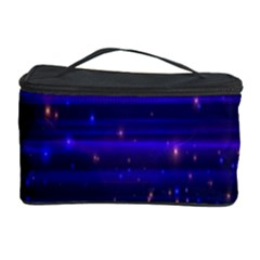 Space Planet Pink Blue Purple Cosmetic Storage Case by Alisyart