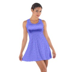 Ripples Blue Space Cotton Racerback Dress