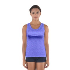 Ripples Blue Space Women s Sport Tank Top  by Alisyart