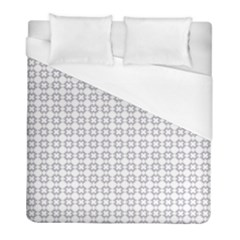 Violence Head On King Purple White Flower Duvet Cover (full/ Double Size) by Alisyart