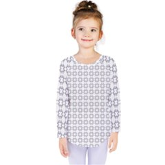 Violence Head On King Purple White Flower Kids  Long Sleeve Tee by Alisyart