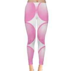 Circle Pink Leggings  by Alisyart