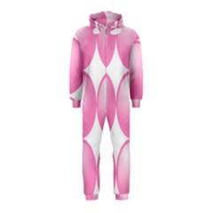 Circle Pink Hooded Jumpsuit (kids) by Alisyart