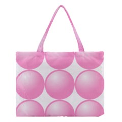 Circle Pink Medium Tote Bag by Alisyart