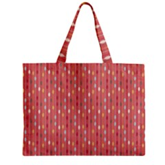 Circle Red Freepapers Paper Zipper Mini Tote Bag by Alisyart