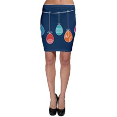 Easter Egg Balloon Pink Blue Red Orange Bodycon Skirt