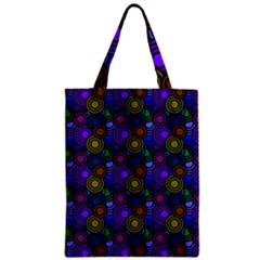 Circles Color Yellow Purple Blu Pink Orange Classic Tote Bag by Alisyart