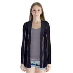 Falling Light Lines Color Pink Blue Yellow Cardigans by Alisyart