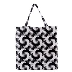 Birds Flock Together Grocery Tote Bag by Simbadda