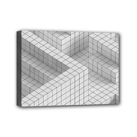 Design Grafis Pattern Mini Canvas 7  X 5  by Simbadda