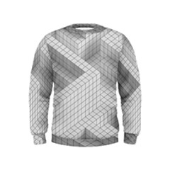 Design Grafis Pattern Kids  Sweatshirt by Simbadda