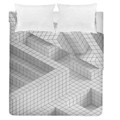 Design Grafis Pattern Duvet Cover Double Side (queen Size) by Simbadda