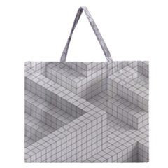Design Grafis Pattern Zipper Large Tote Bag by Simbadda