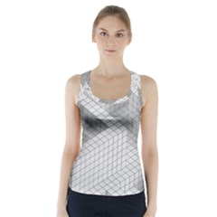 Design Grafis Pattern Racer Back Sports Top by Simbadda