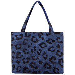 Skin5 Black Marble & Blue Stone Mini Tote Bag by trendistuff