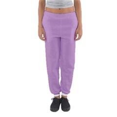 Purple Flagred White Star Women s Jogger Sweatpants by Alisyart