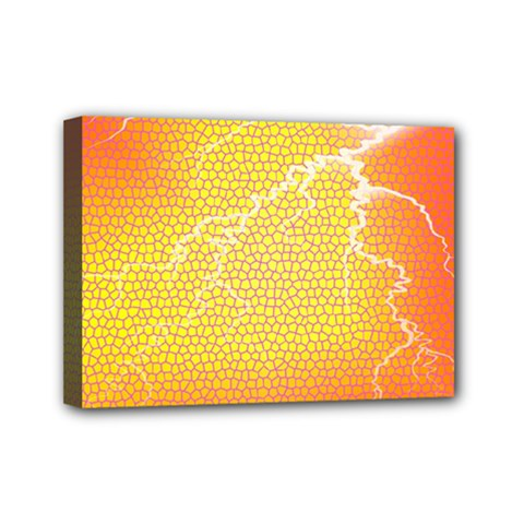 Exotic Backgrounds Mini Canvas 7  X 5  by Simbadda